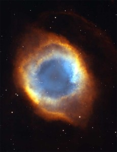"""Eye of God"" - image from Hubble telescope"